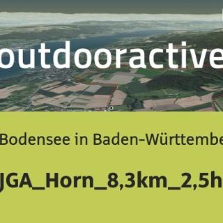 Wanderung am Bodensee in Baden-Württemberg: JGA_Horn_8,3km_2,5h