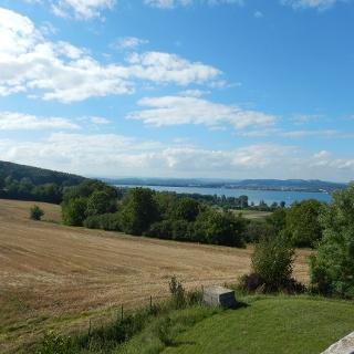 Ausblick vom Wasserturm in Horn nach Norden Richtung Radolfzell