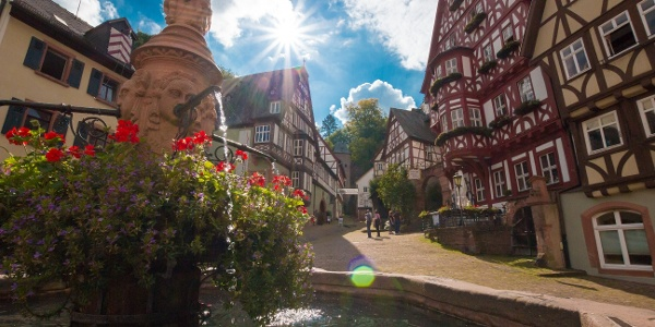 Marktplatz / Schnatterloch in Miltenberg