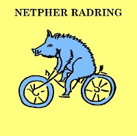 Netpher Radring_Logo und Wegemarkierung