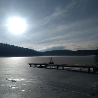 Degersee im Winter