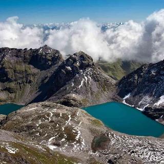 Felsriegel und Gletscherschliff