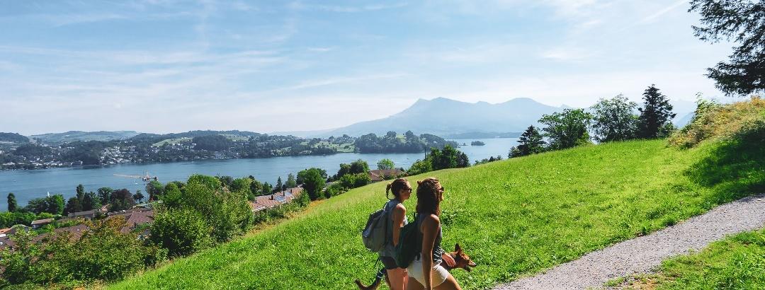 Hiking in Lucerne