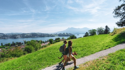 Hiking in Lucerne