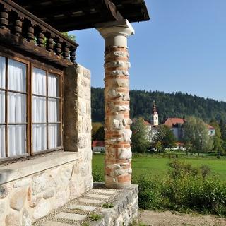 Chapel Jožamurka in Begunje na Gorenjskem, work prominent Slovenian architect  Jože Plečnik