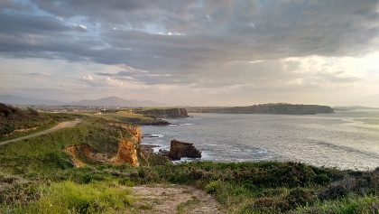 Blick auf Ribamontan al Mar