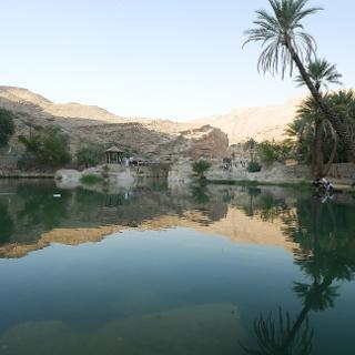 Kleiner See im Wadi Bani Khalid