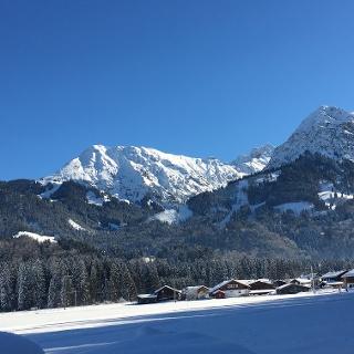 Verschneite Allgäuer Winterlandschaft