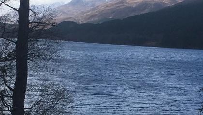 Blick auf Loch Beinn a' Mheadoin