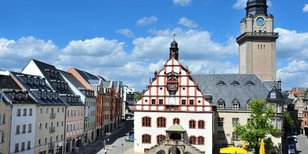 Altes Rathaus und Rathausturm, Altmarkt