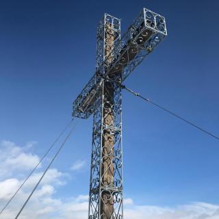 Das stolze Gipfelkreuz
