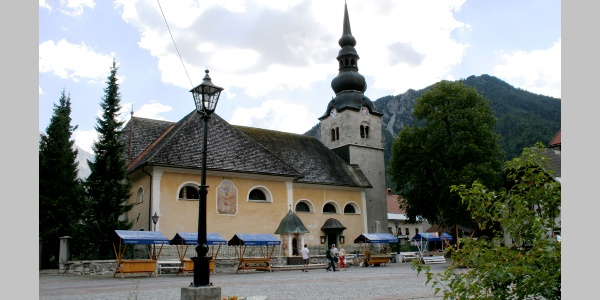 The church of the Assumption of Virgin Mary