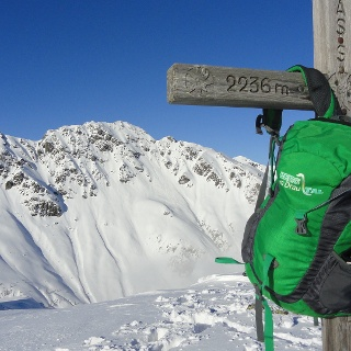 Gipfel Naßfeldriegel