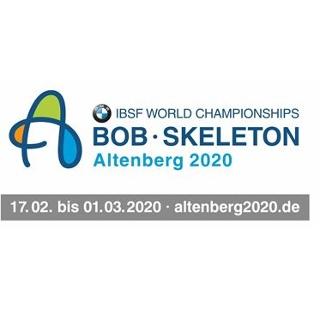 Logo BMW IBSF Weltmeisterschaft im Bob und Skeleton 2020