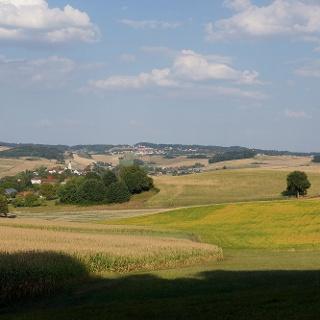 Blick über die Region