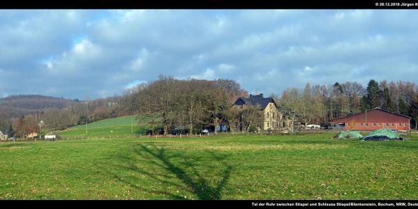 Tal der Ruhr zwischen Stiepel und Schleuse Stiepel/Blankenstein