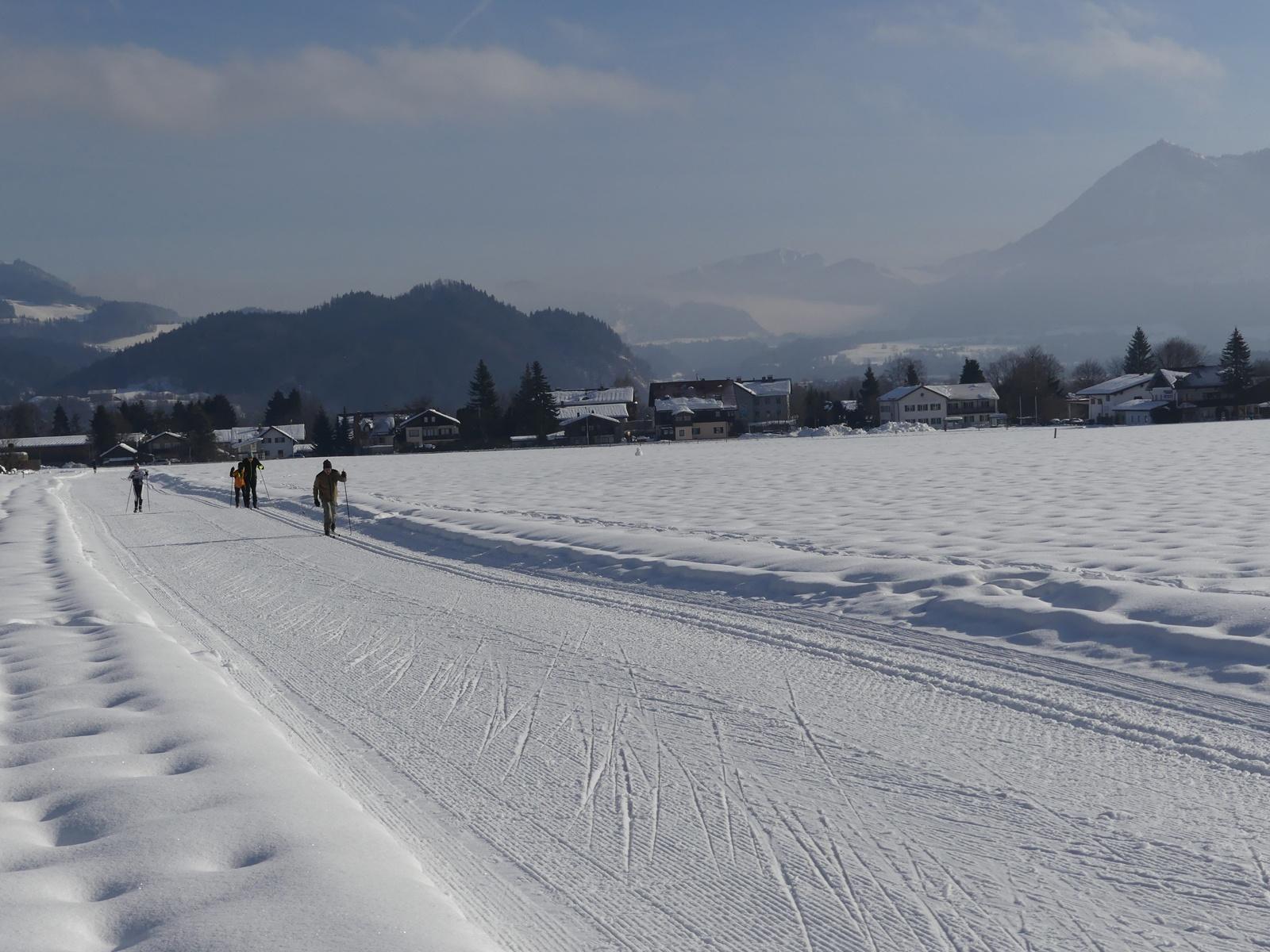 Dorfloipe mit Klassisch und Skating