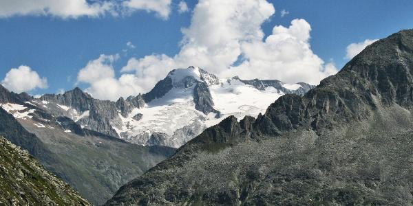 Die vergletscherte Bergwelt rund um den Großen Möseler