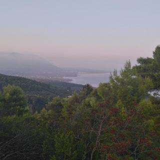 Blick nach Süden Richtung Kyparissia