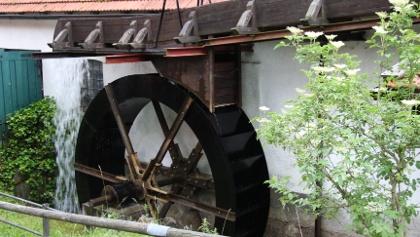 Mühlenrad an der Hammerschmiede