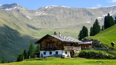 Hiking tour to the Kaser Alm (2076m)