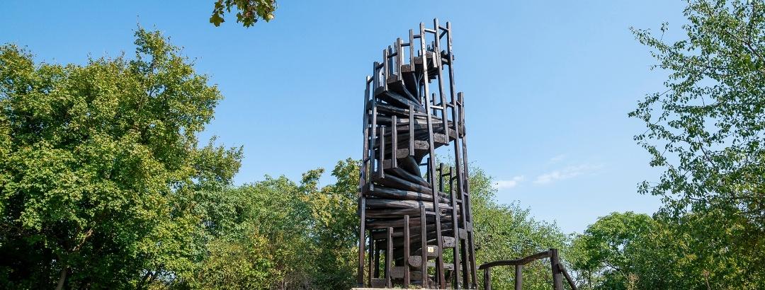 Makovecz Imre Lookout Tower (Kis-Hárs-hegy)