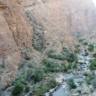 Das Wadi Qtm von oben