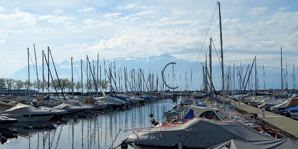 Hafen Lausanne-Ouchy.