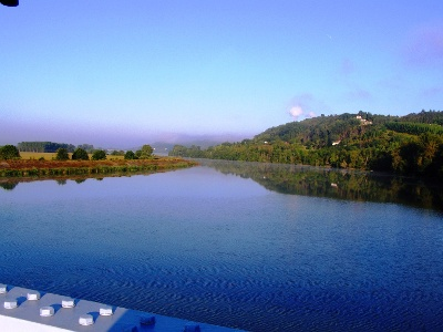 Wir lassen die Garonne hinter uns