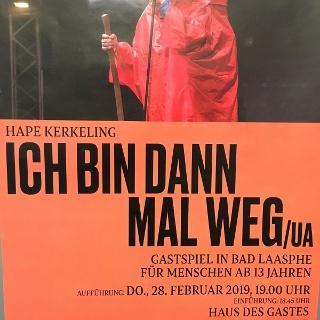 Theater Hape Kerkeling - Ich bin dann mal weg!