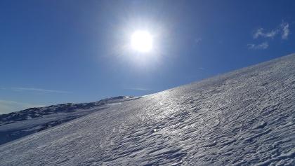 Prachtwetter im Schneeschuhparadies