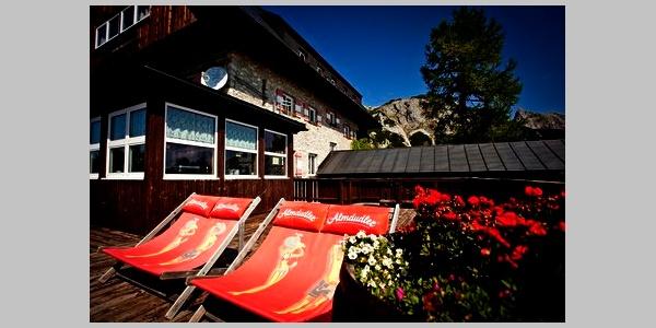 Linzer-Tauplitzhaus Terrasse