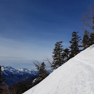 Auf 1550 m mit Blick nach Südwesten: Sonntagshorn