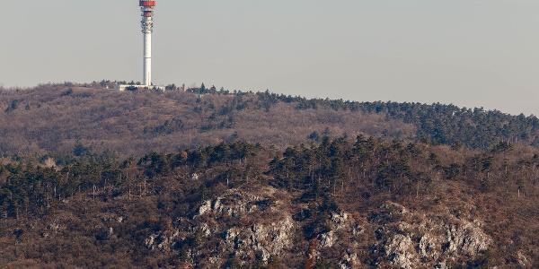 Kecske-sziklák (Goat Rocks) from the lookout tower