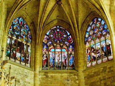 Abschied von Condom und Kathedrale Saint-Pierre