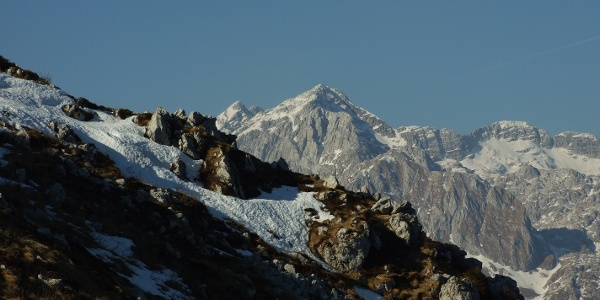 View towards Mt. Velika Baba (Mt. Kanin)