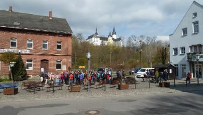 Start am Affalterbacher Platz