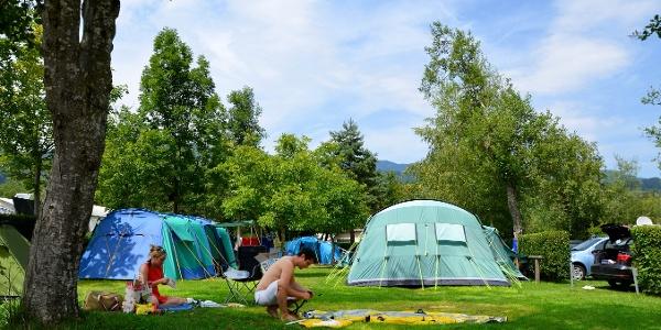 Zeltpaltz Camping International Giswil