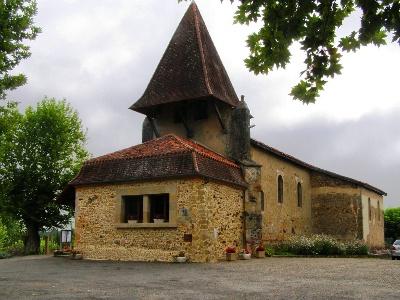Kirche von Lelin-Lapujolle
