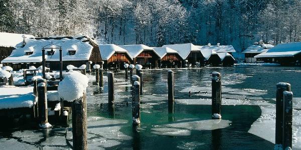 Bootshäuser Königssee