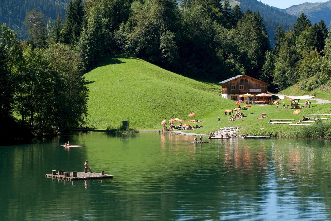 Zum Seewaldsee   Fontanella Urlaub in Vorarlberg