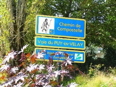 Miramont-Sesacq: auf dem Chemin de Compostelle
