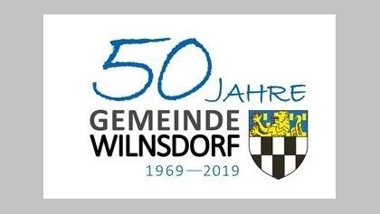 Logo 50 Jahre Gemeinde Wilnsdorf
