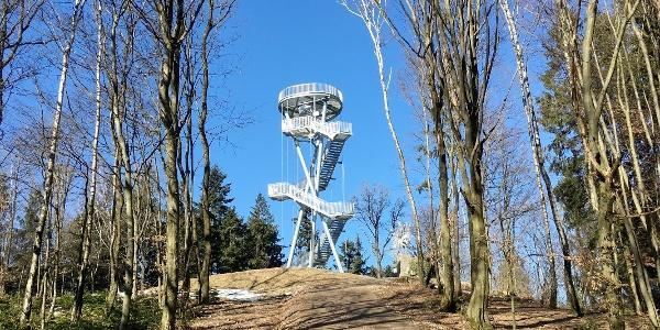 Im Oktober 2018 neu errichtete Gobelwarte des Österreichischen Touristenklubs (ÖTK)