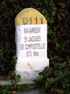 verbleibende km eingangs Navarrenx