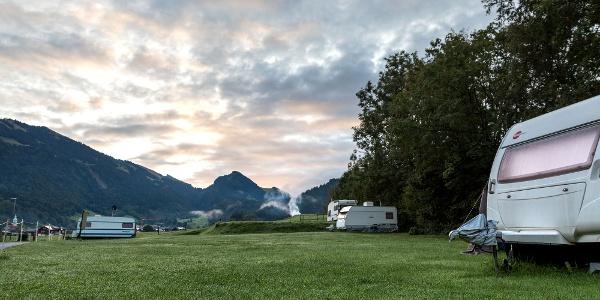 Campingplatz Ach in Bezau