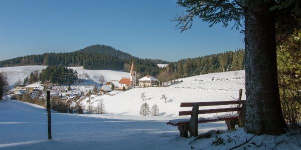 St. Roman im Winter