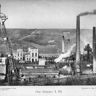 Bild 19 - Otto-Schächte I und III um 1900