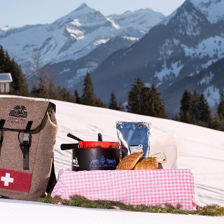 Fondueland Gstaad Winter