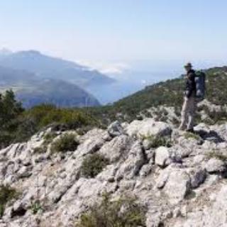 Aussicht auf Berg